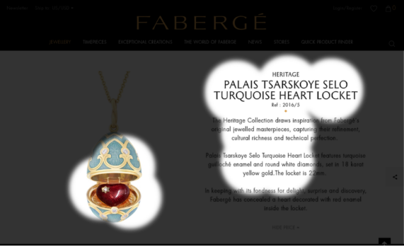 Faberge conversion